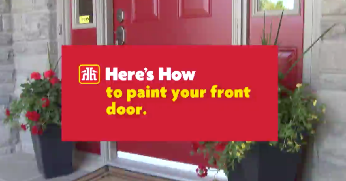 Here's How: Paint Your Front Door