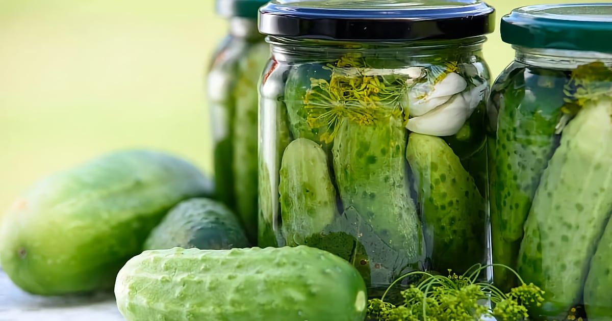 Quick and Easy Sous Vide Dill Pickles
