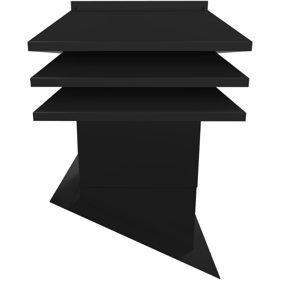 Ventilation Maximum 12 Quot X 12 Quot Maximum Black Slanted Roof